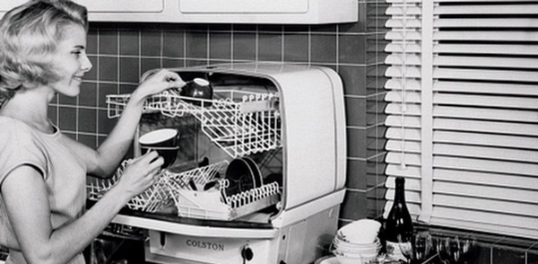 The History of the First-Ever Dishwasher Invented