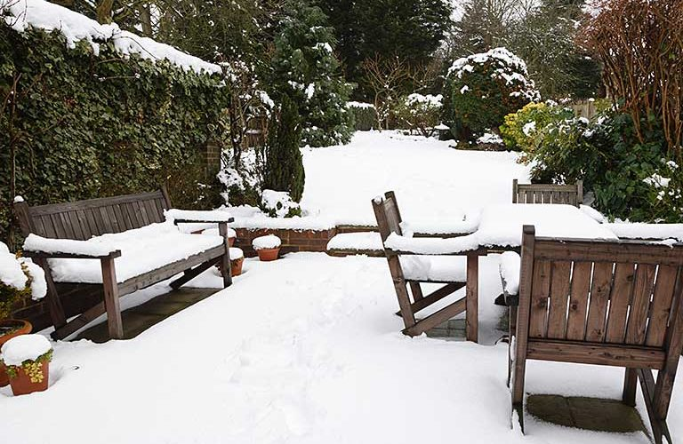 How Do you Take Care of Outdoor Furniture in Winter