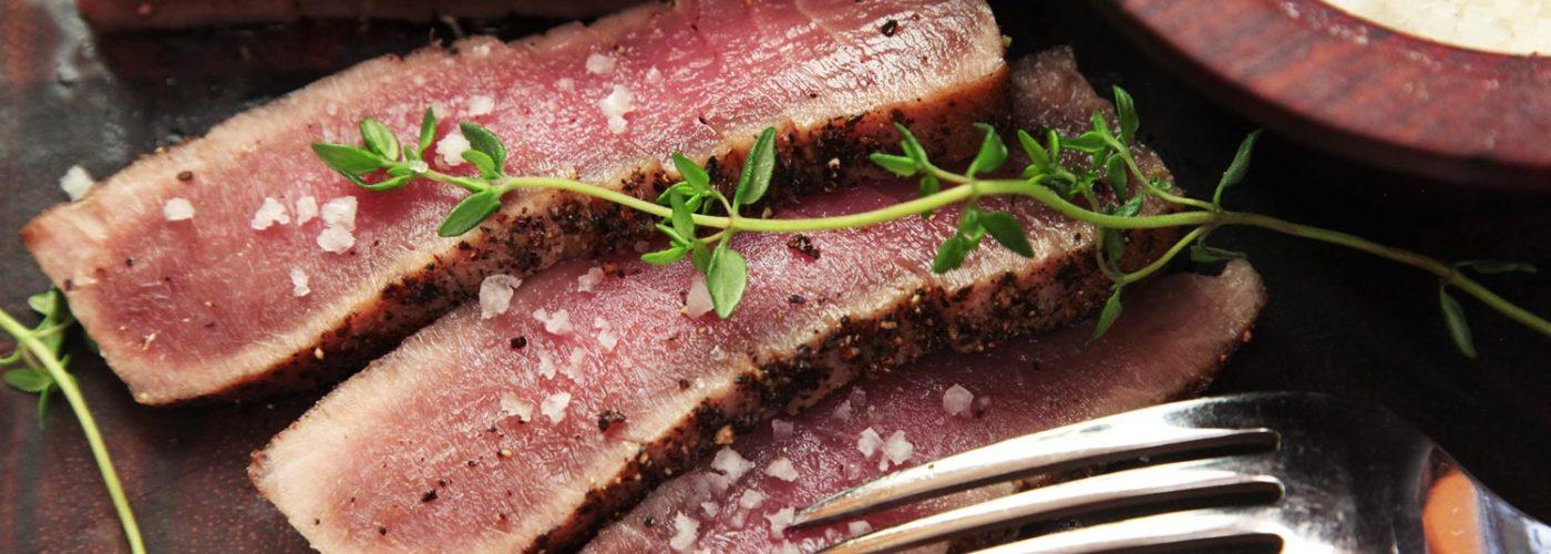 How to cook tuna steak (step by step)