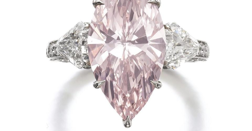 Pink diamonds are the base of Australian merchandise