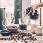 Clear Glass Brewed Coffee
